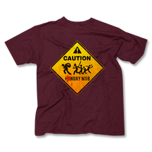 Load image into Gallery viewer, CAUTION / Hangry Mob Men's T
