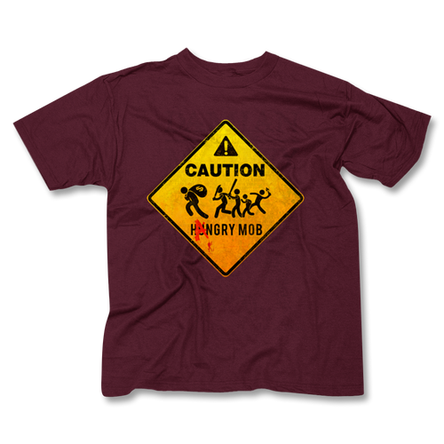 CAUTION / Hangry Mob Men's T