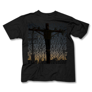 NAIL PON CROSS Lyric Men's T