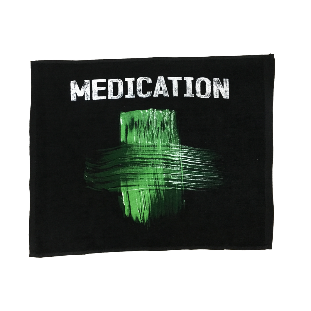 MEDICATION Rally Towel (Black)
