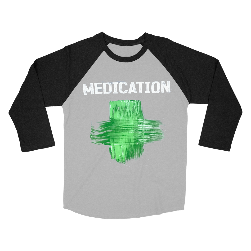 MEDICATION Women's Raglan T