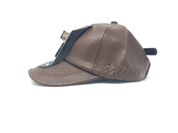Leather Soft hat