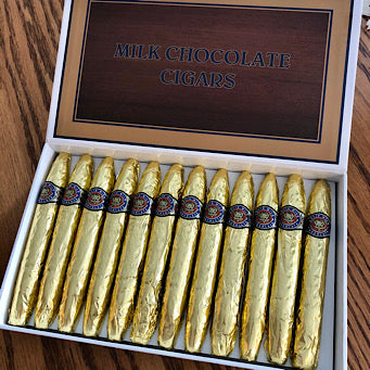 Foiled Chocolate Cigars