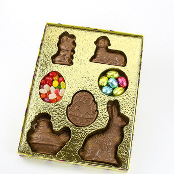 Happy Easter Basket Plaque