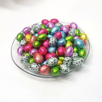 Foiled Eggs (Milk, White, Dark)