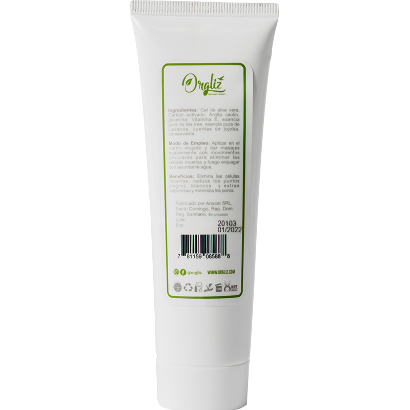 GEL EXFOLIANTE FACIAL DETOX