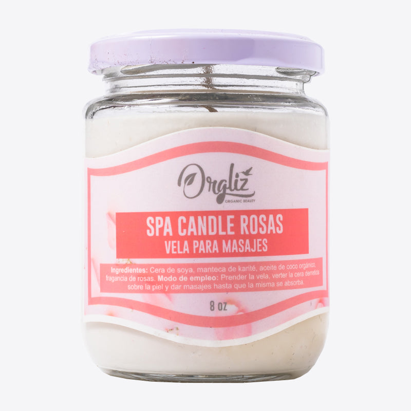 SPA CANDLE ROSAS