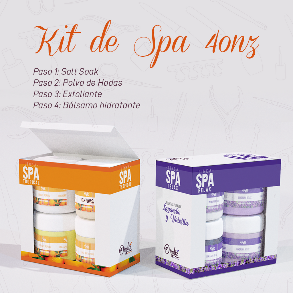 KIT SPA CORPORAL 4OZ