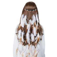 Boho Feather Headband Hair Accessories
