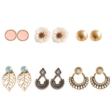 6 pairs/set Vintage Earrings