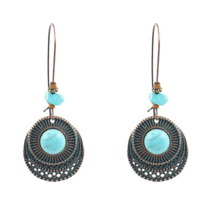 New Arrival - Vintage Antique Round Earrings
