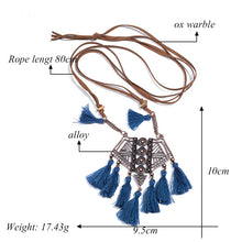 Vintage Boho Tassel Necklaces