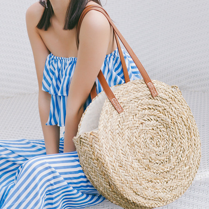 Summer Bohemian Style Straw Handbags