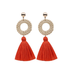 Fringed Tassel Bohemian Earrings