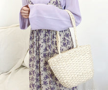 Bohemian Straw Shoulder Bags