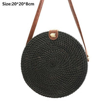 2019 Rattan Bags Handbags For Women 2018 Bali Bohemian Summer Beach Bag Fashion Hot Shoulder Crossbody Round bolsa Straw Bag