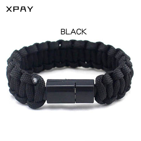 Bracelet Charging USB Cables Wearable Wristband