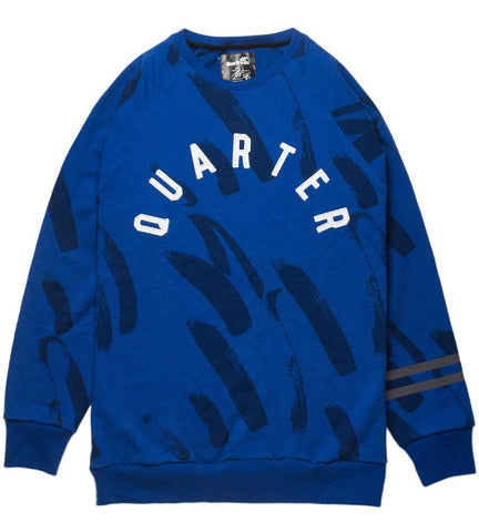 Hamate Blue Sweater