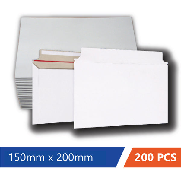 Card Mailer 150 x200mm 300gsm Heavy Duty Envelope Tough Bag Replacements