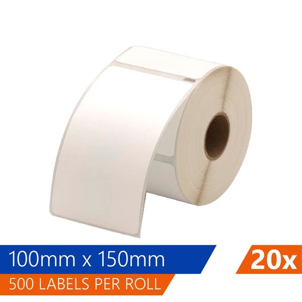 Thermal Labels Roll 100 X 150mm Fastway EParcel Startrack