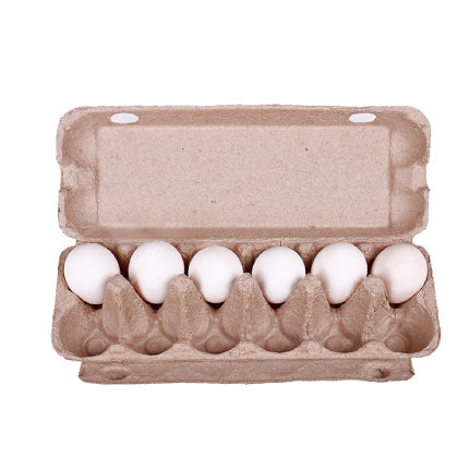 Brand New Natural /Rustic 12s 'One-Dozen' Egg Cartons