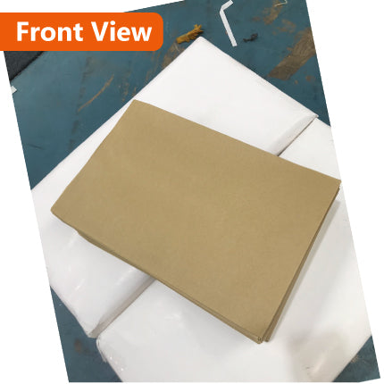 100x Card Mailer 260 x 360mm + 30mm Wide Adhesive Seal 120gsm Brown Envelope