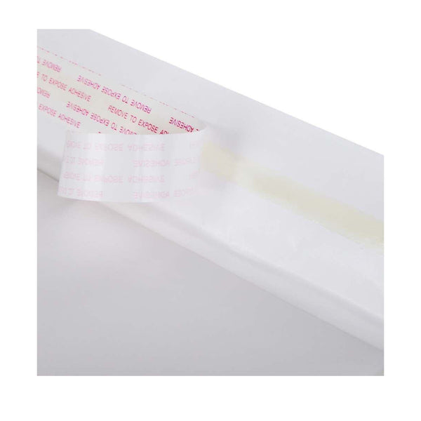 110 x 240mm Bubble Padded Bag Mailer White Plain Kraft Cushioned Envelope