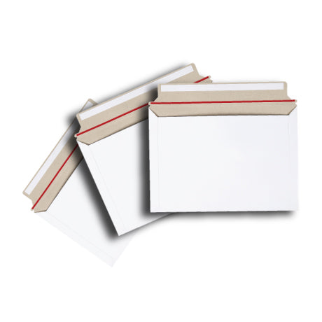 Card Mailer A4 Size 230x320mm 300gsm White Envelope Tough Bag Replacements