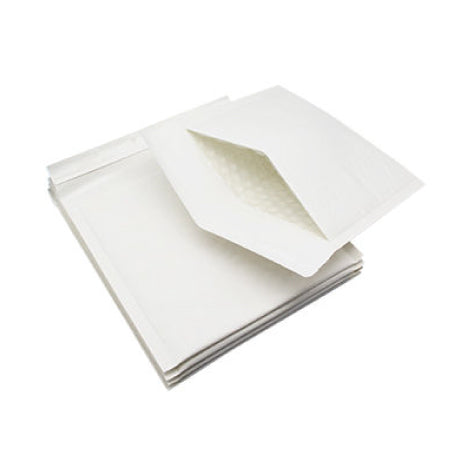 120mm x 180mm Bubble Padded Bag Mailer White Plain Kraft Cushioned Envelope