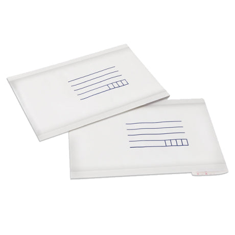 160mm x 230mm Bubble Padded Bag Mailer White Printed Kraft Cushioned Envelope