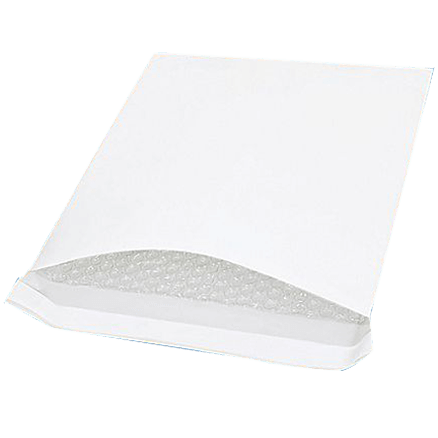 Bubble Padded Bag Mailer White Plain Kraft Cushioned Envelope