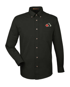 Men's Easy-Care Dress Shirt - Black