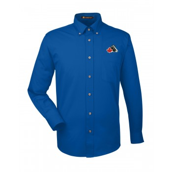 Men's Easy-Care Dress Shirt - Blue