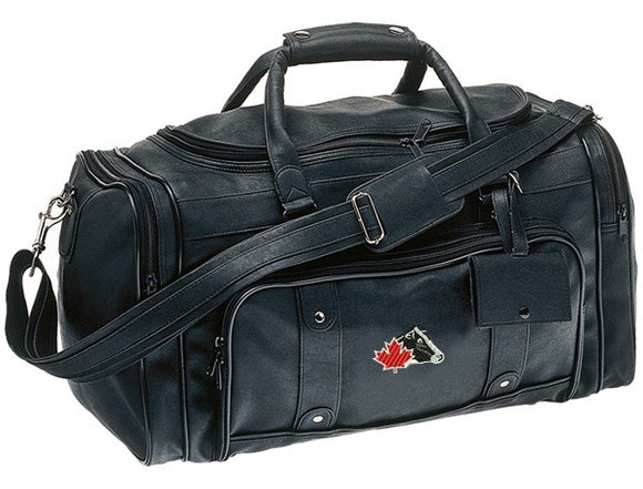 Leatherette Duffel Bag