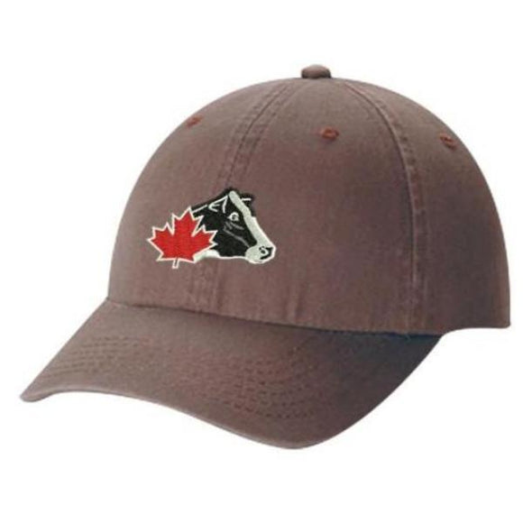 Ladies' Twill Ball Cap - Brown