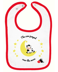 Rabbit Skins Infant Bib - Red