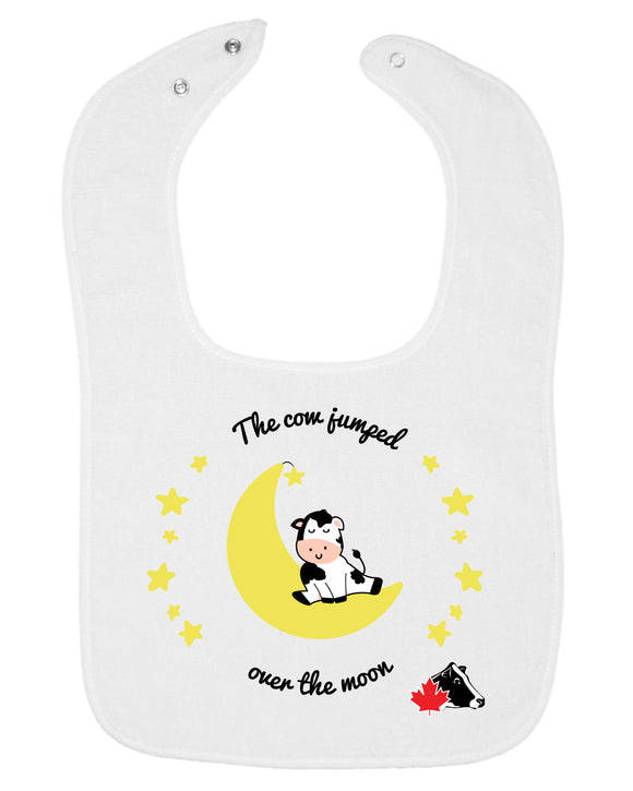 Rabbit Skins Infant Bib - White