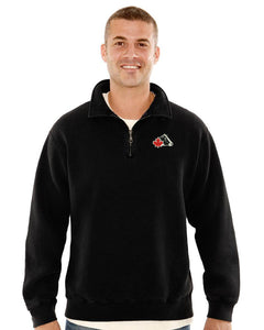 Adult Canadian-Made Redwood® 1/4-Zip Sweatshirt