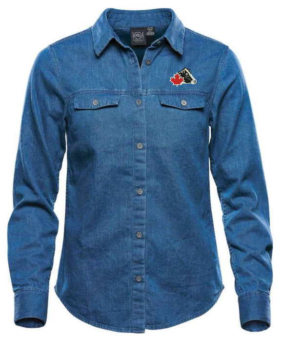 Ladies' Stormtech® Denim Shirt