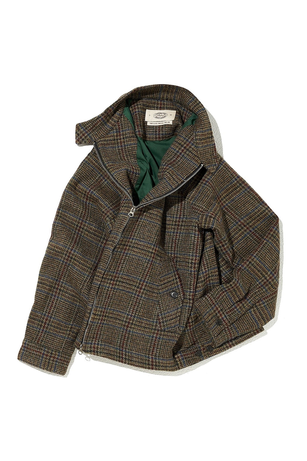 19 FW EASY SWING JACKET WOOL MAGEE FABRIC
