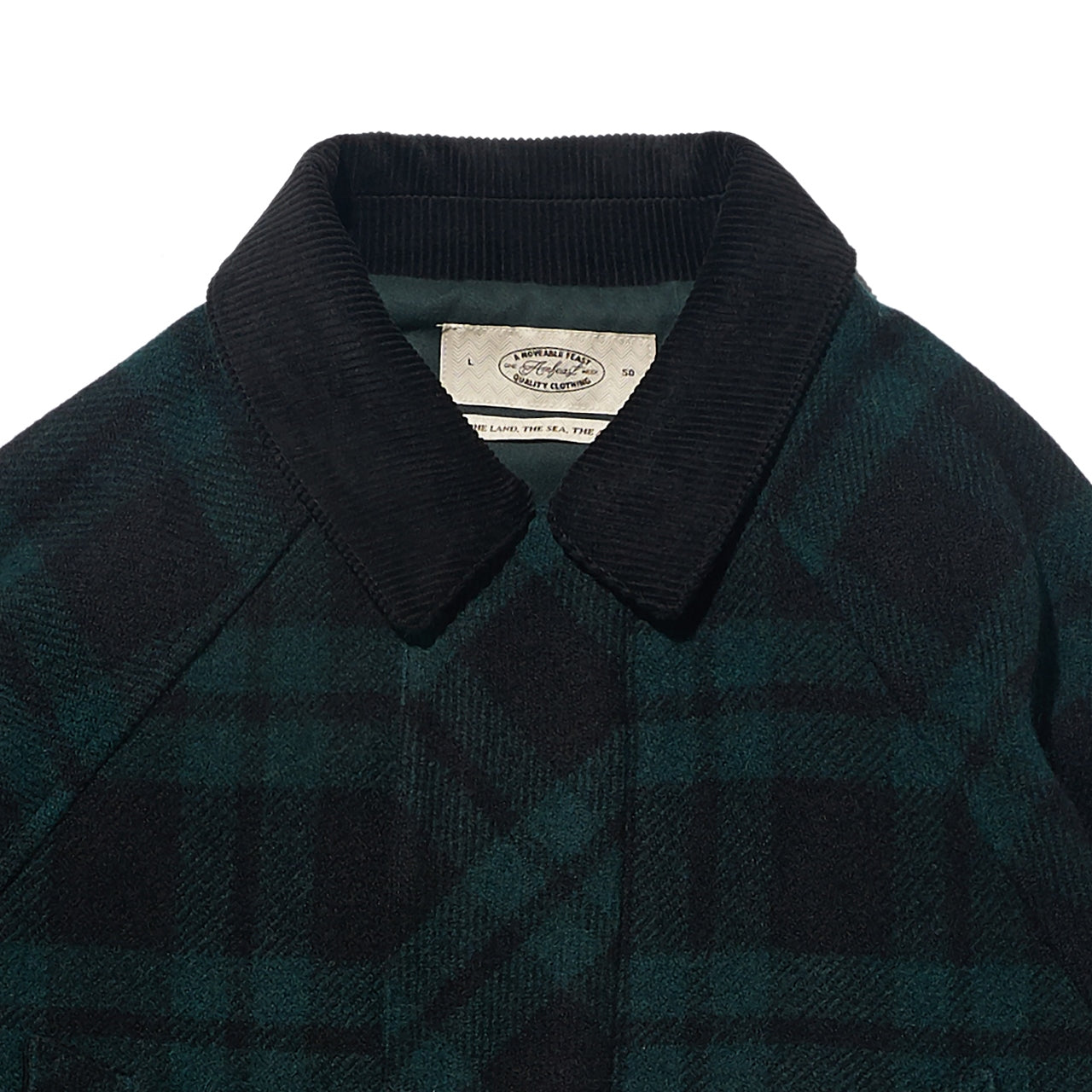 19 FW SIGNATURE CITY HALF COAT