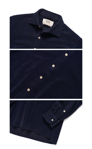 19 FW HOLIDAY TERRY COTTON SHIRTS