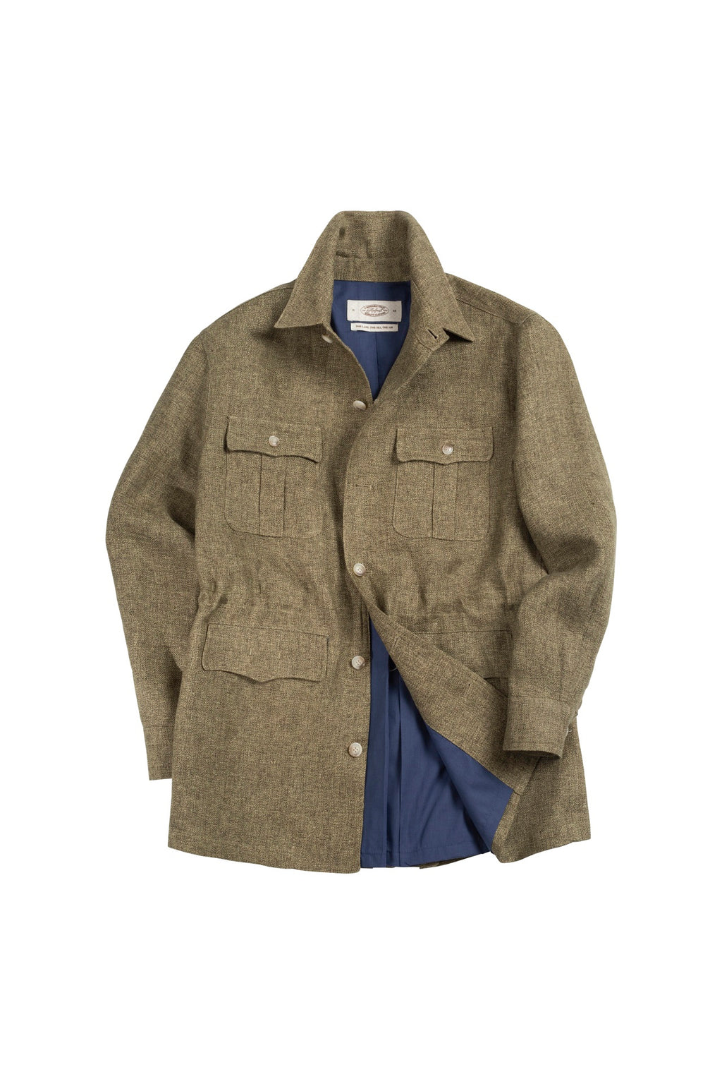 2020 SS LINEN SAFARI JACKET