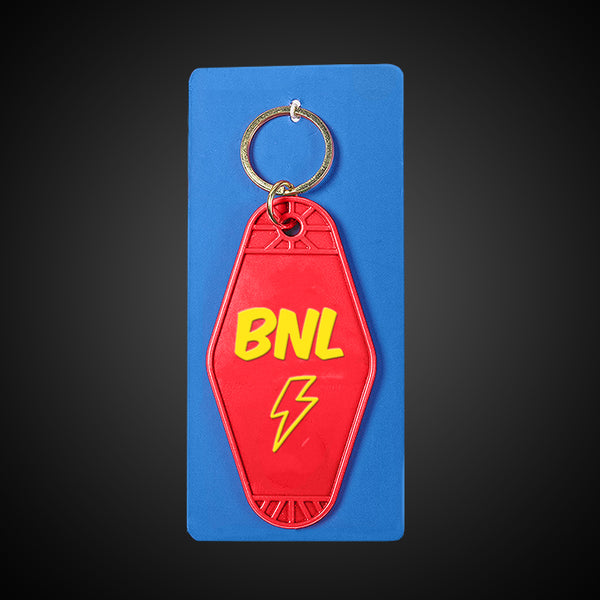 Barenaked Ladies Lightning Rod Red Motel Keychain (with hang tag)