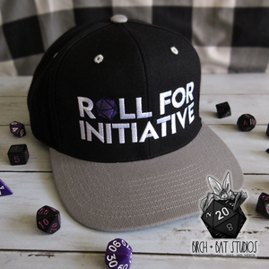 Roll for Initiative Snapback Hat