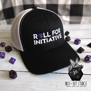Roll for Initiative Trucker Cap