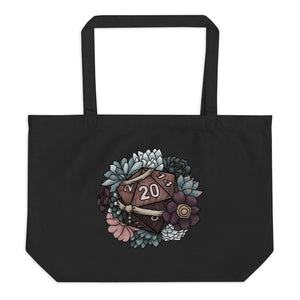 Monk Class D20 Oversized Tote Bag