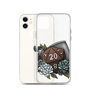 Paladin Class D20 iPhone Case - D&D Tabletop Gaming