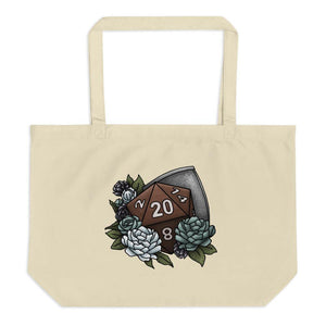 Paladin Class D20 Oversized Tote Bag