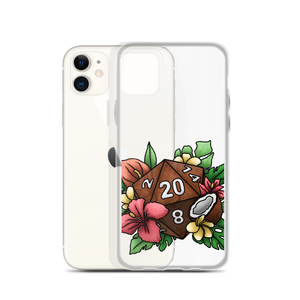 Tropical D20 iPhone Case